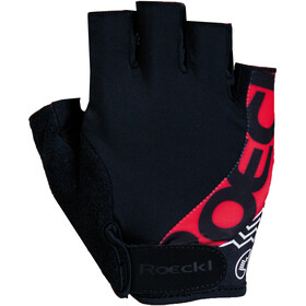 Roeckl Bellavista Gants, black/red